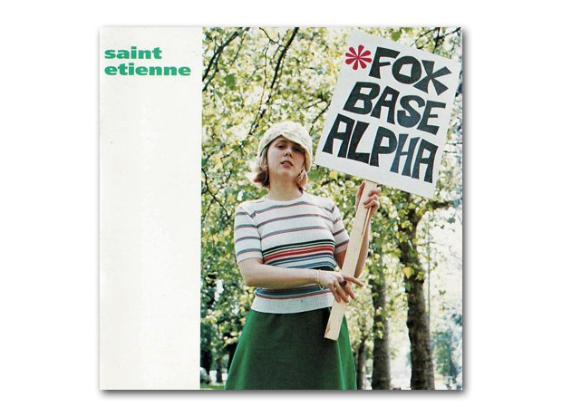 St Etienne - Foxbase Alpha album cover
