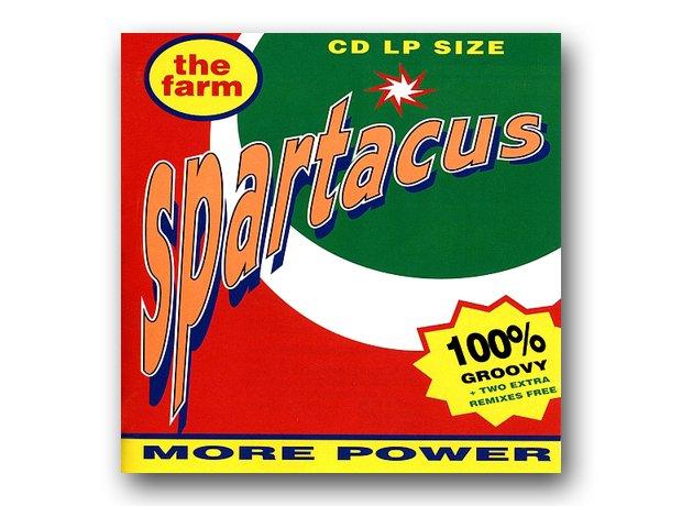 The Farm – Spartacus album cover