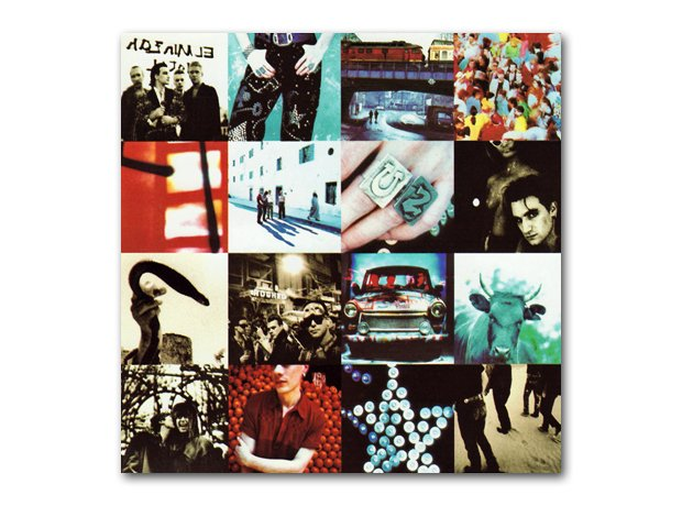 U2 - Achtung Baby album cover