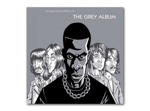 Danger Mouse - The Grey Album album cover
