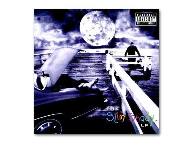 Eminem - The Slim Shady LP album cover