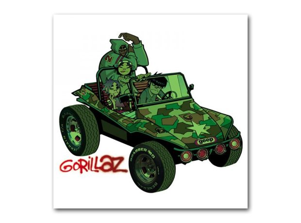 Gorillaz - Gorillaz album cover