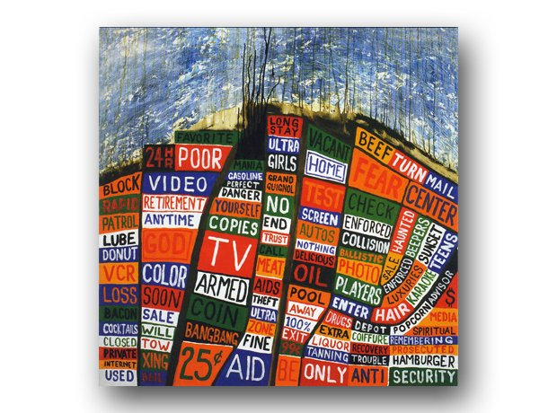 Radiohead - Hail To The Thief album cover