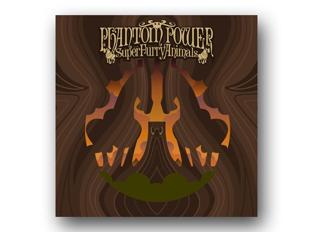 Super Furry Animals - Phantom Power album cover