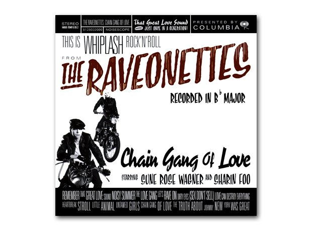 The Raveonettes - Chain Gang Of Love album cover