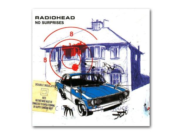 Radiohead - No Surprises album cover