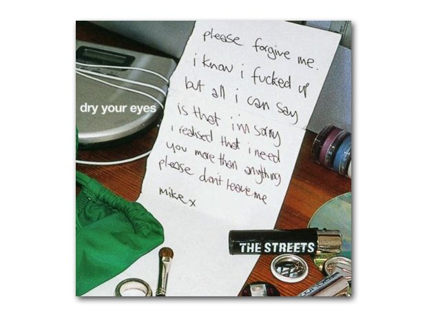 The Streets - Dry Your Eyes album cover